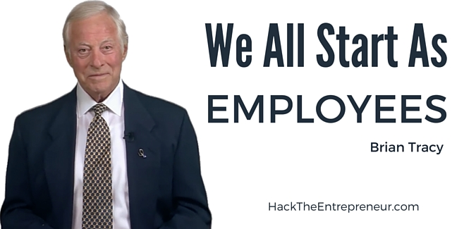 Brian Tracy on Hack the Entrepreneur