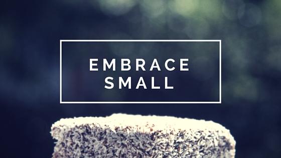 Embrace Small