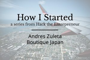 Andres Zuleta Boutique Japan