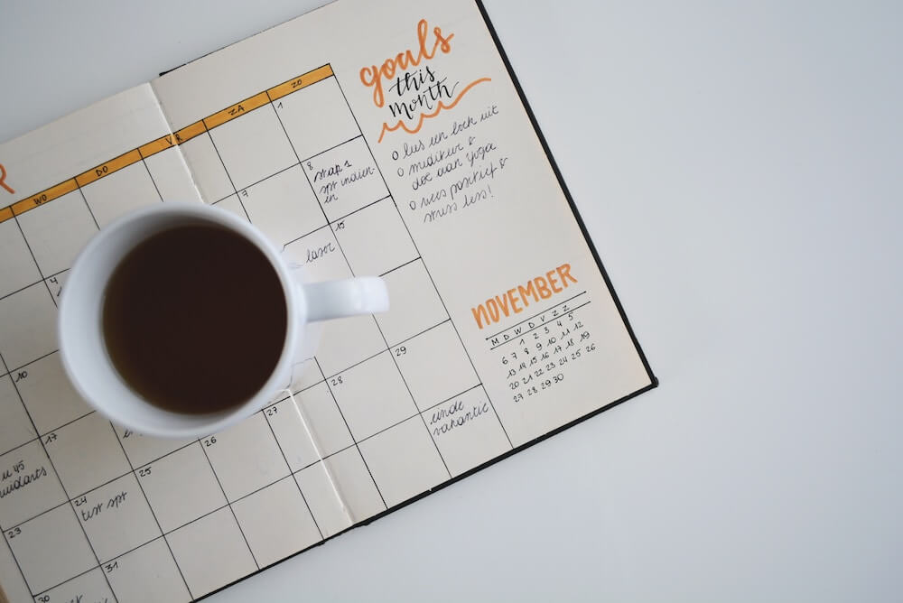 goal setting for the month