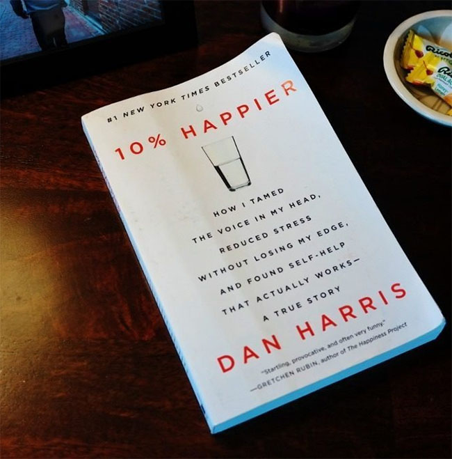 10 per cent Happier by Dan Harris