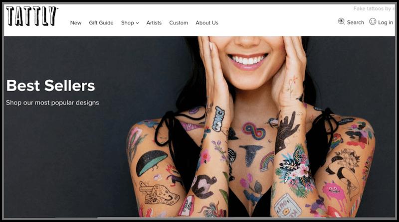 Tattly shopify online store