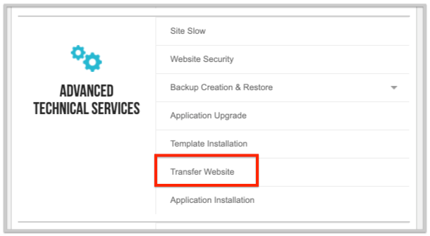 siteground review website transfer process