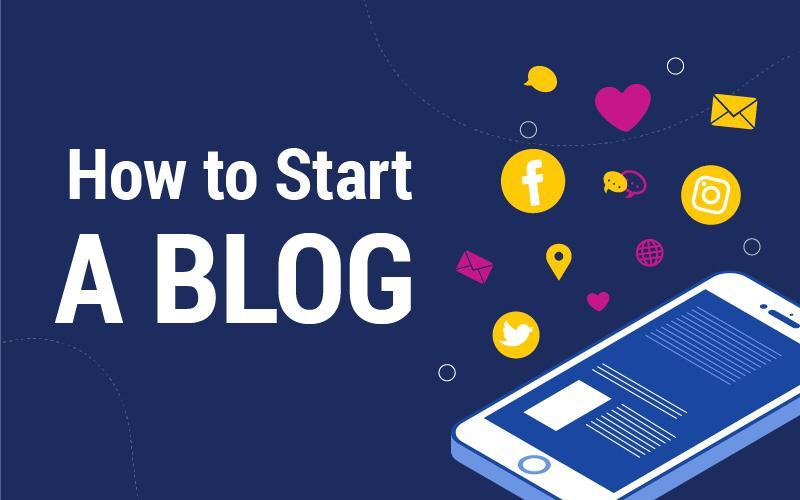 how to start a blog hack the entrepreneur