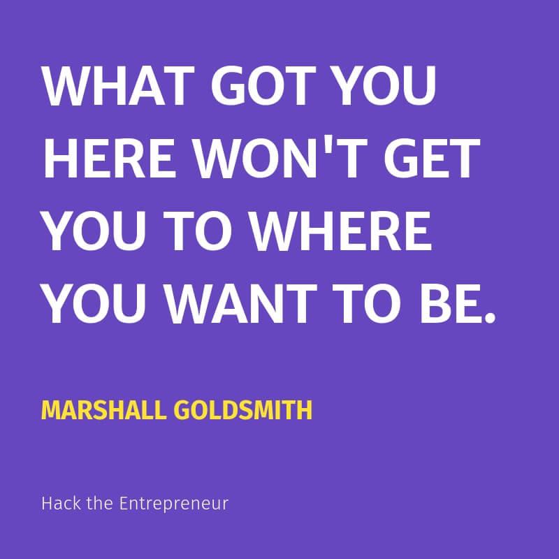 Mindset quotes motivation marshall goldsmith