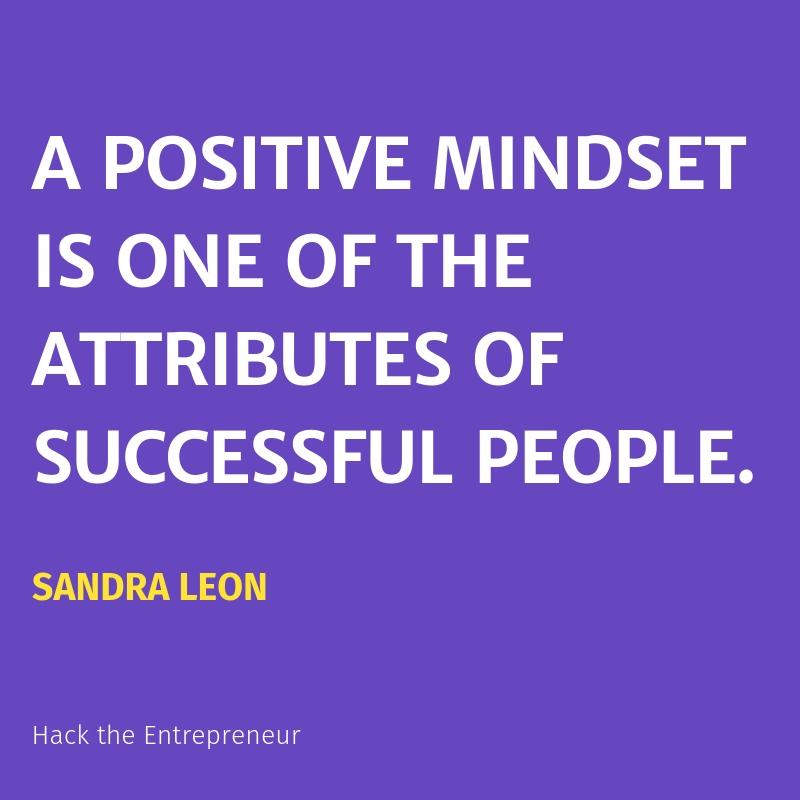 Mindset quotes motivation sandra leon