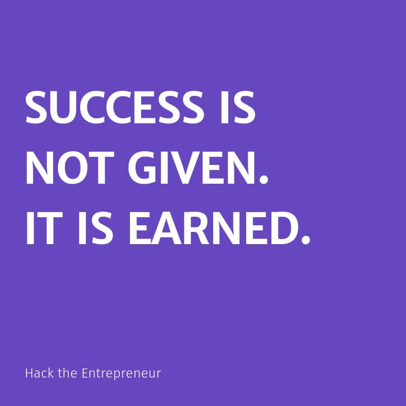 Mindset quotes motivation success is not given