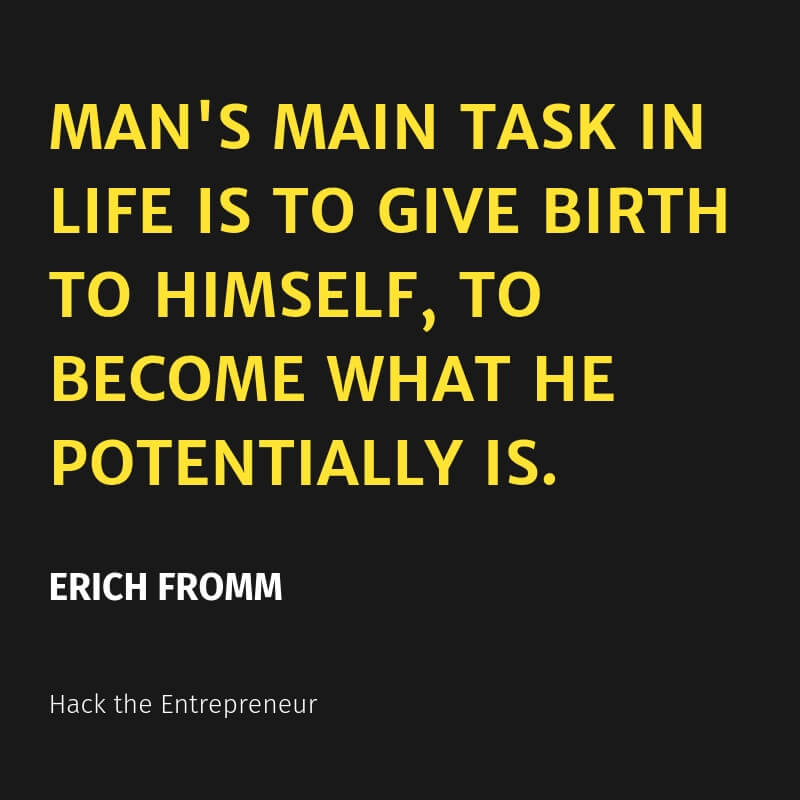mindset quotes erich fromm
