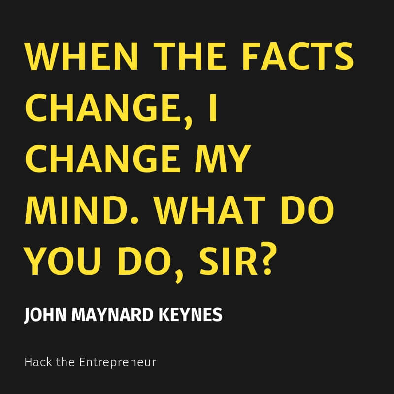 mindset quotes john maynard keynes facts change