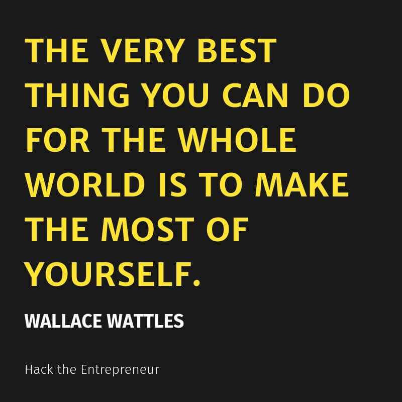 mindset quotes wallace wattles