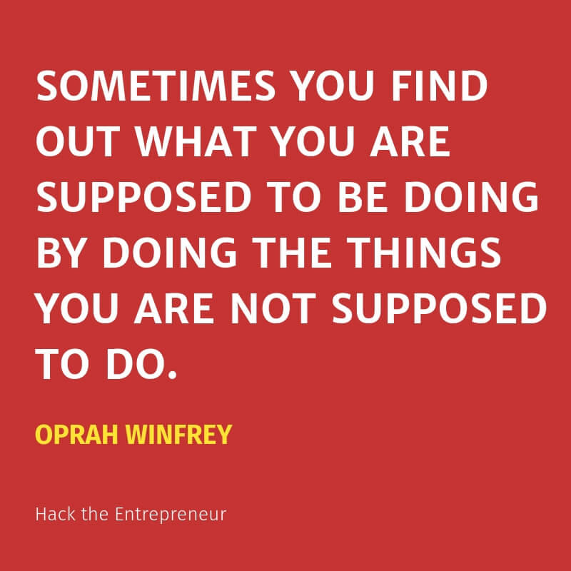 motivation quotes hustle oprah winfrey supposed to be doing