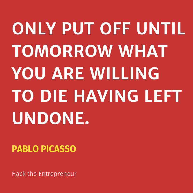 motivation quotes hustle pablo picasso