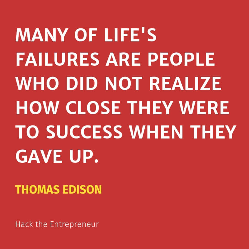 motivation quotes hustle thomas edison