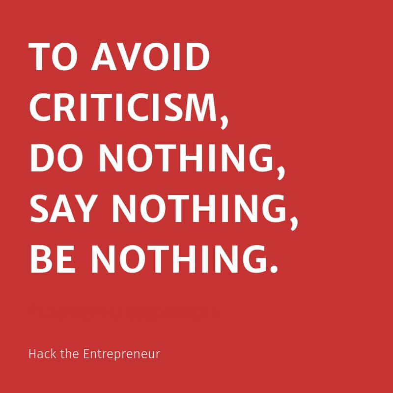 motivation quotes hustle to avoid criticism