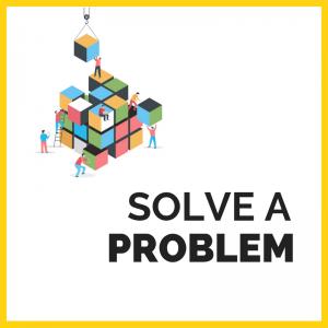 to be an entrepreneur solve a problem