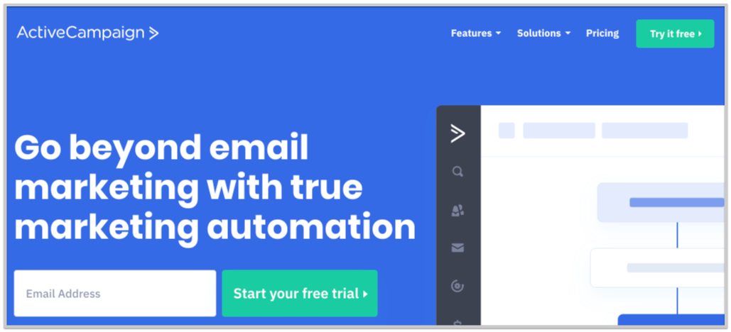 email service provider active campaign