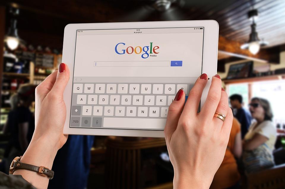 person-googling-on-an-ipad