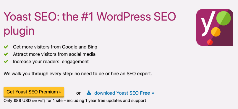 yoast seo plugin for wordpress blogs